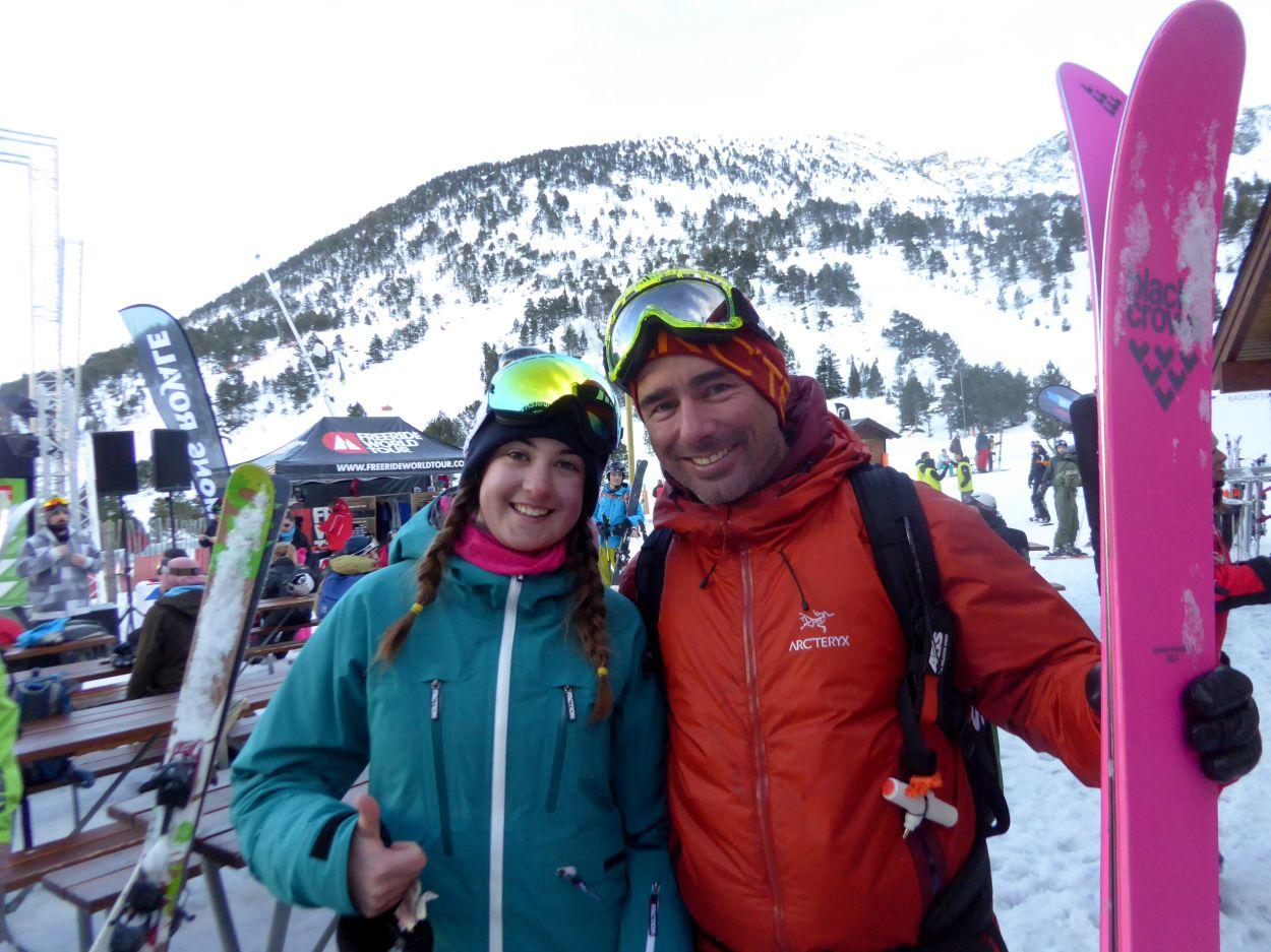 Con David Sanabria