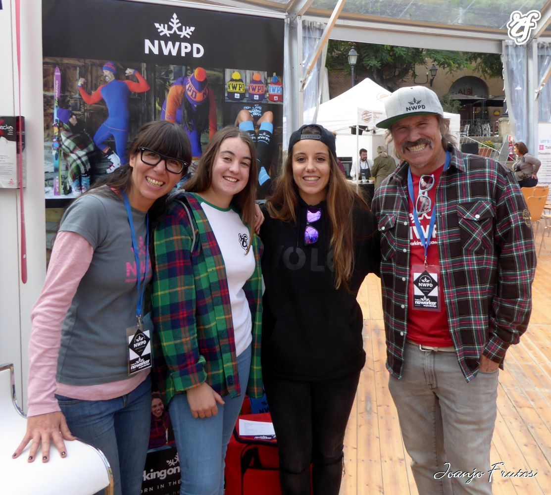 Con NWPD y Nuría Castán