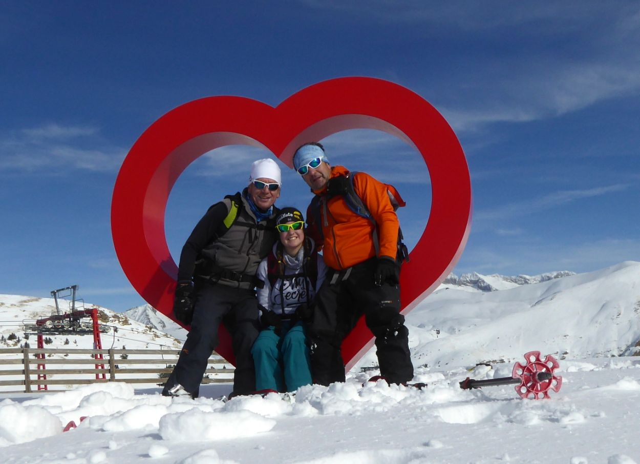 Con Lucas y Joanjo
