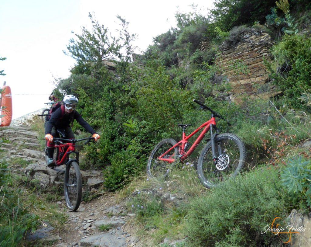 Enduro btt por Cerler, Valle de Benasque