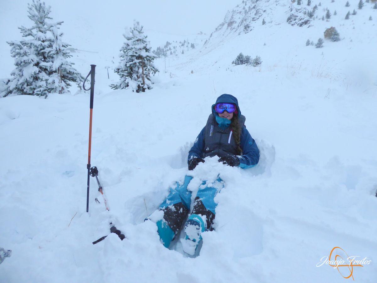 Se acabó la confusión, esquís.