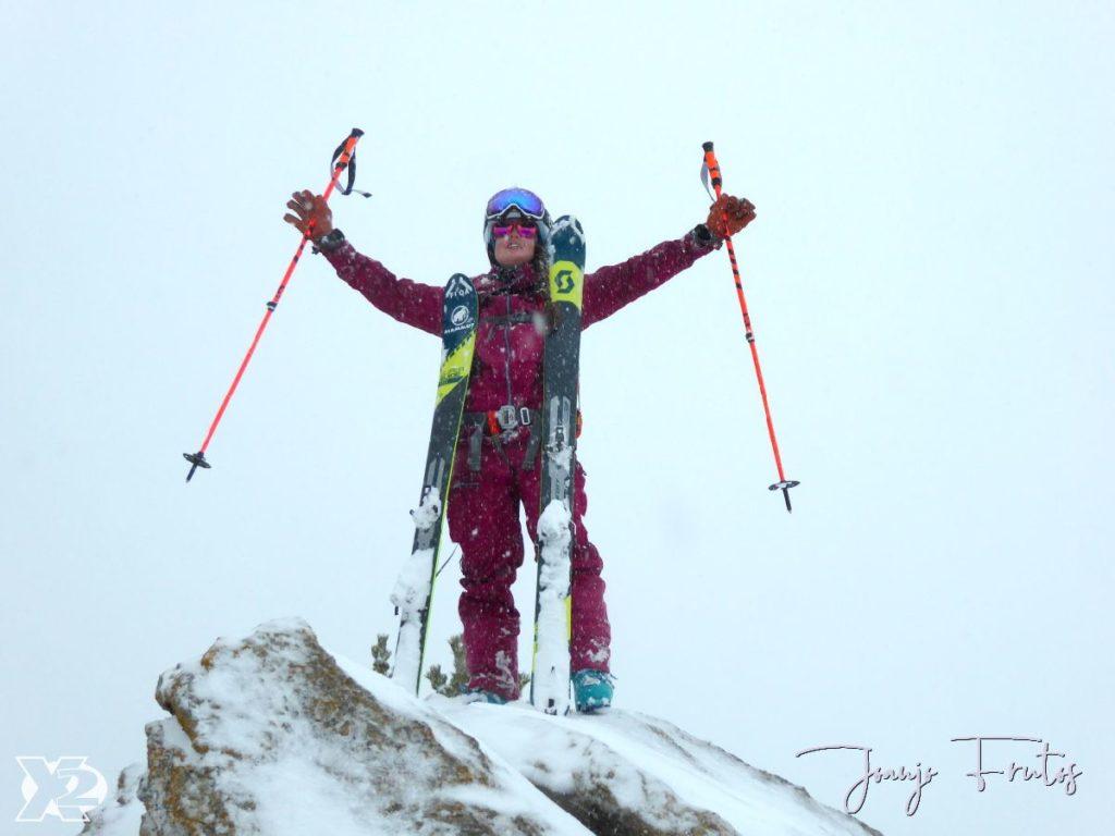 Esquí de travesía por el bosque de Cerler RF