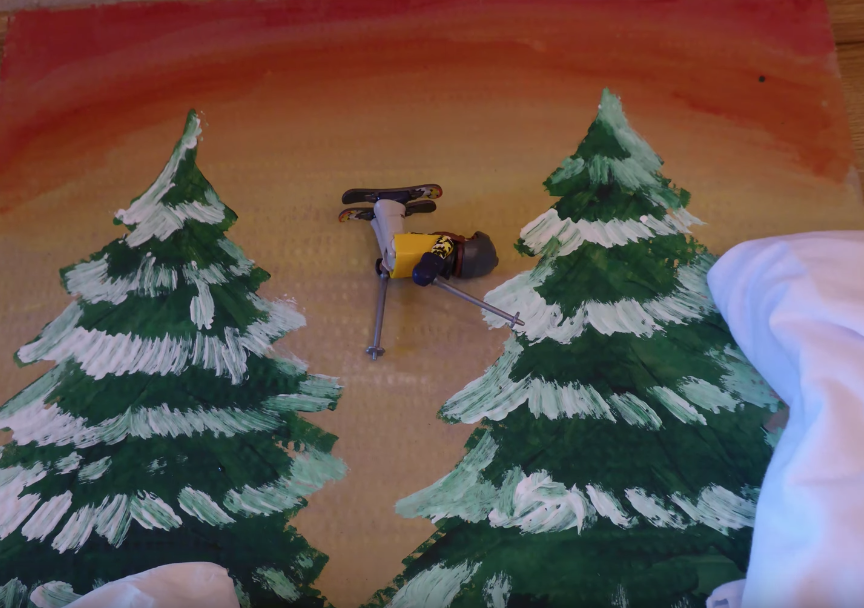 STOPMOTION PLAYMOBIL FREERIDER EN CASA